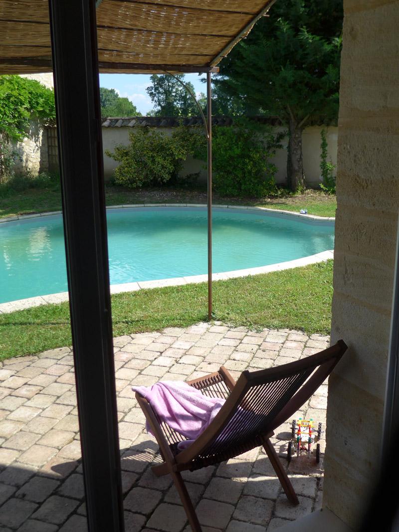 Gîte Jonc Blanc (Dordogne) : Maison en pierre, piscine, nature