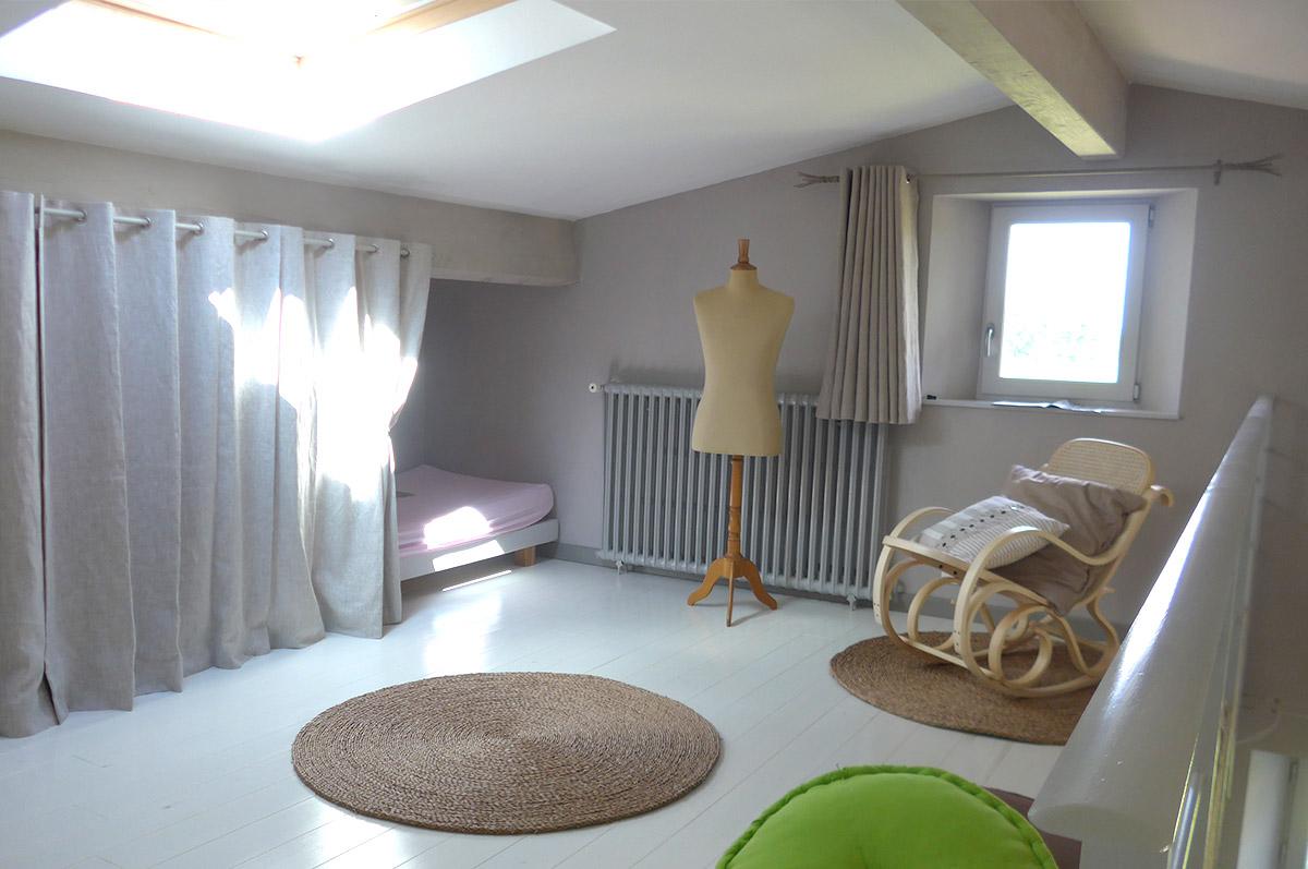 Gîte Jonc Blanc (Dordogne) : Maison en pierre avec mezzanine