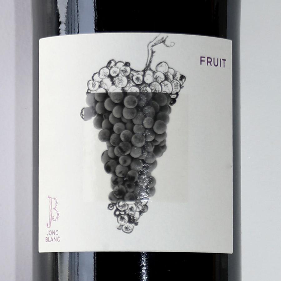 JONC BLANC, FRUIT étiquette : sans soufre ajouté