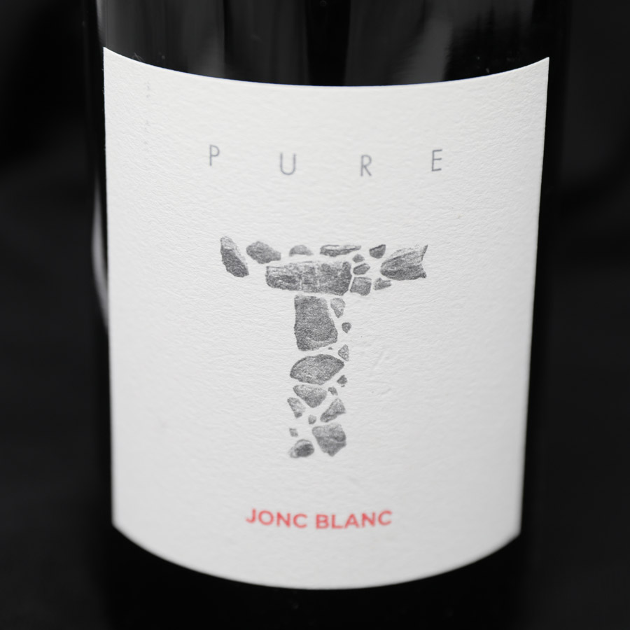 PURE T, étiquette vin rouge biodynamique haut de gamme