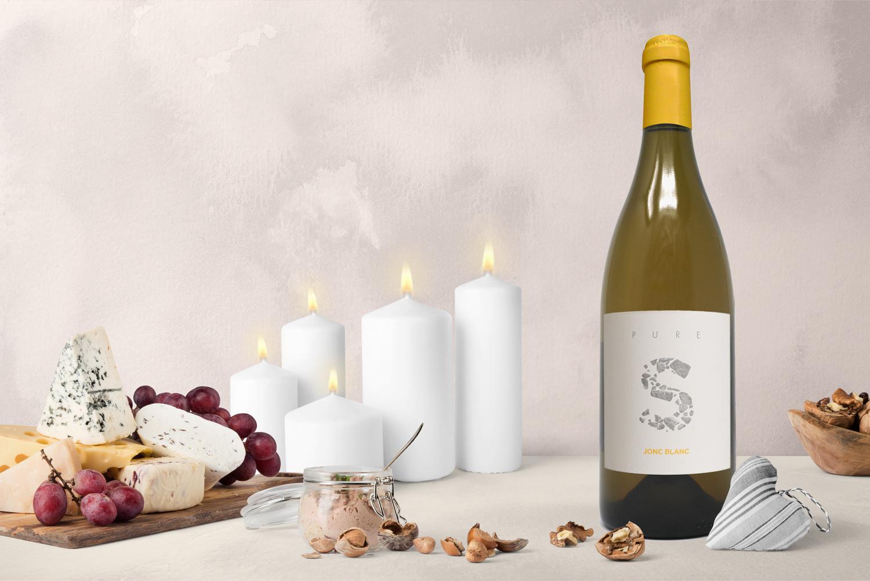 Jonc Blanc - PURE S, Vin Blanc vivant biodynamique